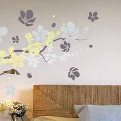 Branches & Flowers wallsticker