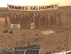 Jajajajaj hasta los alienígenas se hartan de la invasión yankee