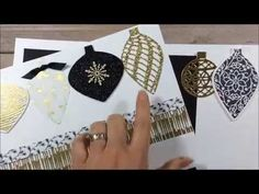 The Stamp Therapists: Stampin' Up!'s Precision Plate Video and Scrapbook Club Projects