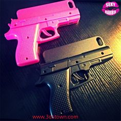 Fashionable handgun design, bang bang gun wrench enables you anti-theft function, compatible for iPhone 5/5s/6/6 plus