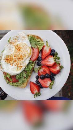 Vegan Healthy Snacks, Quick Healthy Breakfast, Healthy Eating, Healthy Nutrition, Clean Eating, Easy Snacks, Dinner Healthy, Yummy Healthy Recipes, Breakfast Cooking