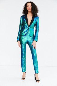 Iridescent Pant Suit