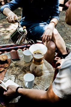 Fika is all about spending time with friends and family, to take a break, catch up and relax