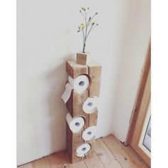 Creative (and Easy) DIY Toilet Paper Holders Unusual Toilet Paper Storage inspiration that Your Bathroom Wants.Unusual Toilet Paper Storage inspiration that Your Bathroom Wants. Diy Toilet Paper Holder, Paper Roll Holders, Toilet Paper Storage, Diy Wood Projects, Wood Crafts, Woodworking Projects, Fine Woodworking, Woodworking Techniques, Project Projects