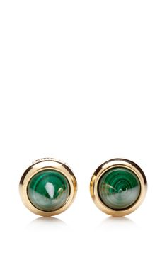 Could these be any more dangerous? Malachite Cone Earrings by @Eddie Borgo Eddie Borgo @Moda Operandi