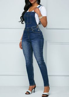db30ba8c 7 Best Blue overalls images | Blue overalls, Corduroy overall dress ...