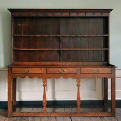 A George III oak dresser - Bücherboard fürs Wohnzimmer?