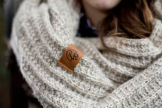 Cozy loop scarf