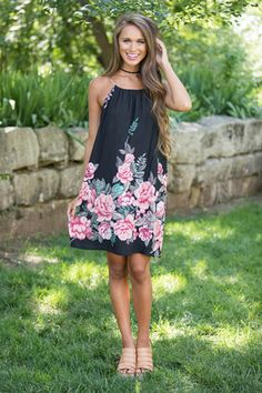 Dancing With You Floral Dress