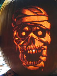 Carved by St0ney Pumpkin Pattern available at www.Stoneykins.com