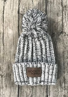 Hockey+Mom+Toque,+light, $24.50