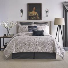 If you are trying to find exquisite bedding, then Croscill will proudly help you. Croscill bedding features luxurious designs and styles of sets in a wide Croscill Bedding, Damask Bedding, Comforter Sets, Duvet, Waverly Bedding, Moroccan Bed, Bedroom Bed, Bedroom Ideas, Bedrooms