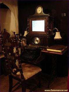 I can live... if living is without this.... #gadgets #steampunk