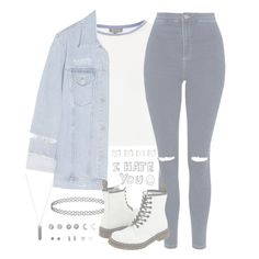 """""""//Drive//"""" by alex-bows ❤ liked on Polyvore featuring Karen Kane, Topshop, Acne Studios, Dr. Martens, With Love From CA and Maison Margiela"""