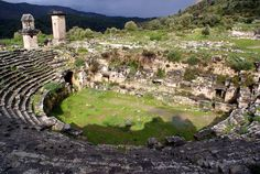 Xanthos-Letoon,  Capital of ancient Lycia. Remarkable archaeological complex.