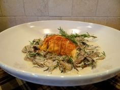 Roasted Chicken with Mushroom Ragout - Italian Recipes | Paleo Recipes | Award Winning Recipes
