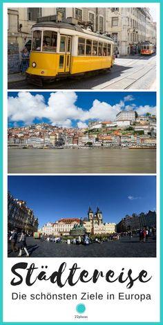 Die schönsten Ziele für einen Städtetrip in Europa. In diesem Artikel zeigen wir dir unsere 11 Lieblins-Ziele für eine Städtereise.