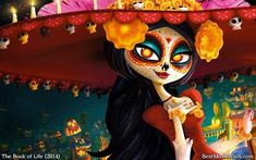 The beautiful La Muerte from The Book of Life