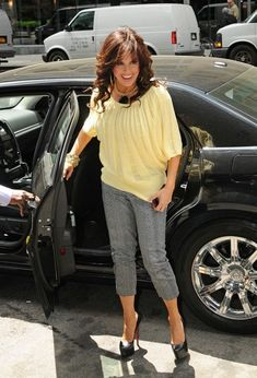 Marie Osmond Photos - NO GERMANY / SWITZERLAND .Marie Osmond, who remarried her first husband last week, heads into a Midtown office building. - Marie Osmond in Midtown Black High Heel Pumps, Shoes Heels Wedges, Strappy Heels, Black Heels, Stiletto Heels, Shoes Sneakers, Before Midnight, Satin Pumps, Womens Fashion Sneakers