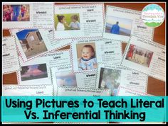 Teaching With a Mountain View: Literal Vs. Inferential Thinking