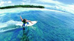 Learn to surf with Tropicsurf @Four Seasons Resorts Maldives (Kuda Huraa)