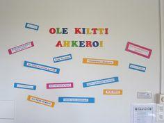 OpenIdeat: Luokkahuone saitsari Back To School, Classroom, Teacher, Education, Tips, Class Room, Professor, Entering School