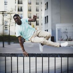 #Jumping in the #city - #Lacoste #StreetMoves