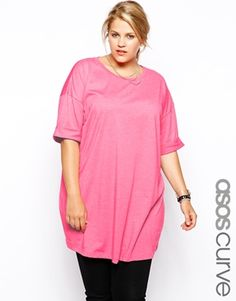 043df95712d3 ASOS CURVE Oversized T-Shirt Fashionable Plus Size Clothing
