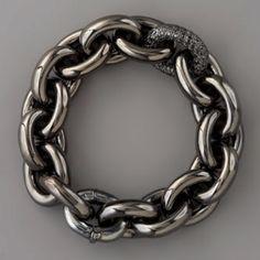 Pave-Link Chain Bracelet  Eddie Borgo