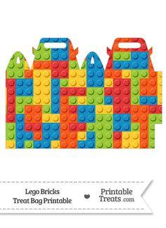 Lego Bricks Treat Bag--- https://www.pinterest.com/printabletreats/lego-theme-printables/