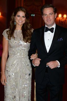 HRH Princess Madeleine and Chris O'Neill: wedding royal 6/7/13