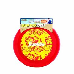 """Franklin Sports Jumbo Disc (24-Inch) by Franklin. $17.50. Jumbo size, jumbo fun Our 24"""" Jumbo Disc is feather light. Perfect for the backyard, park or a day at the beach.. Save 12% Off!"""