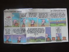 Occasionally you find a comic that really has some meaning. This is a picture of life without God.