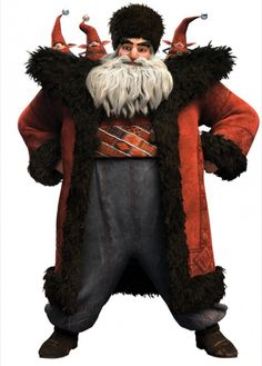 Rise of the Guardians - North ... I is liking Russian Santa. He is making me laugh :)