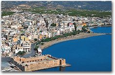 35 Kms from Agios Nikolaos lies Ierapetra. Ierapetra is Europes southernmost town, full of monuments preserved up to our times, revealing the area's long history. Crete Island, Greece Islands, Xenia Hotel, Creta Greece, Places To Travel, Places To Visit, City Museum, Travel Memories, Night Life