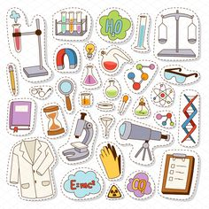 Science chemistry stickers vector by Vectorstockersland on Creative Market - - Science chemistry stickers vector by Vectorstockersland on Creative Market Midgets Wissenschaft Chemie Chemie Aufkleber Vektor von Vectorstockersland auf Creative Market Journal Stickers, Laptop Stickers, Cute Stickers, Planner Stickers, Cartoon Stickers, Free Printable Stickers, Science Chemistry, Science Art, Science Education
