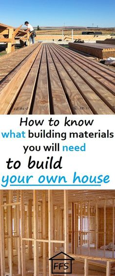 Build Your Own House from start to finish, everything you could ever need to know to