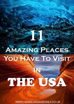 11 Amazing Places You Should Visit In The USA But Have Probably Never Heard Of! travel destinations 2019 11 Amazing Places You Should Visit In The USA But Have Probably Never Heard Of! Voyage Usa, Blog Voyage, Cool Places To Visit, Places To Go, Fun Places To Travel, Reisen In Die Usa, Destination Voyage, Travel Advice, Travel Tips
