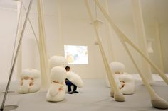 Ernesto Neto: The Body that Carries Me opens at The Guggenheim Museum Bilbao