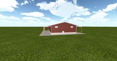 Cool 3D #marketing http://ift.tt/2oqvAeG #barn #workshop #greenhouse #garage #roofing #DIY