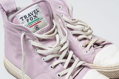 MUST HAVE ITEM@KSHS1994 late 80's fashion, Travel Fox high tops are too cool for skool! We used to Stock these bad-boys at SOLETRADER! Throw back Thursday #tbt