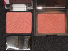 Love dupes!  wet n wild berry(l) and nars taos (r)
