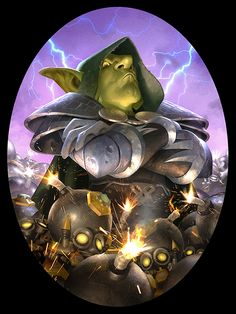 "Legendary card art for Hearthstone |  ""Dr. Boom"" by AlexGarner.deviantart.com on @deviantART"