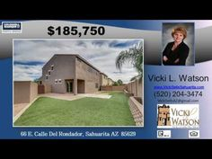 http://ift.tt/2lTQNcP 3 BR 3 BA home in Rancho Sahuarita --  Call Vicki Watson at (520) 204-3474 -- Popular Toledo Model by Pulte Homes. Located on an oversized Corner Lot  this home has a lot to offer. Fresh exterior paint and solar shade screens  add to the curb appeal. Spacious 2 221 sq ft home features 3 large bedrooms  2 1/2 baths  and a HUGE loft/game room that could be a BIG 4th Bedroom with the addition of a closet. Beautiful wooden floors throughout the downstairs  adds to the…