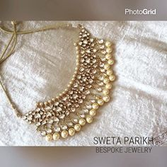 """The """"sonam kapoor choker"""" is now on board with us ! Indian Jewelry Sets, Indian Wedding Jewelry, India Jewelry, Bridal Jewelry, Beaded Jewelry, Pakistani Jewelry, Bollywood Jewelry, Indian Necklace, Bespoke Jewellery"""
