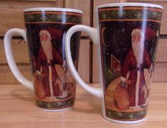 Christmas Coffee Mug Holiday Susan Winget Set Of 2 #CertifiedInternational
