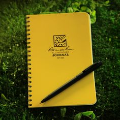 All Weather Pen & Journal with All-Weather Paper