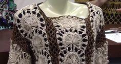 MARILAC ARTESANATOS: Blusa crochê de grampo Aprenda a fazer você mesma uma blusa encantadora em crochê. É só conferir!