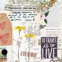 A little bit of romance and travel daydreaming for week 21 on my #midoritravelersnotebook. ✈🌷 . . . . #travel #journal #flowers #art #diy #crafts #plannergirl #plannernerd #fountainpen #handlettering #typography #vintage #stationery #stamps #stickers #washi #手帳 #日記 #文房具 #トラベラーズノート