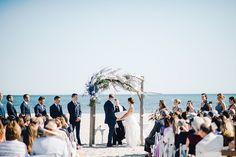 ceremony arch by Foret Design Studio // photo by cambria grace